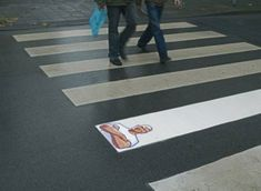 Creative funny guerilla marketing for Mr. Clean #promo