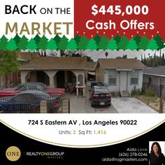 Back on the market. Residential Income Property in ELA.