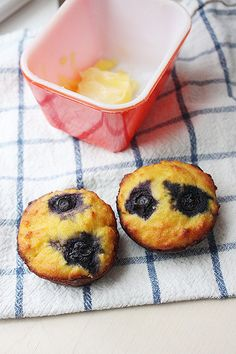 coconut flour blueberry muffins (tried them before I pinned them, just for you Zazu)