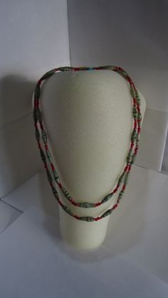 Looking for some Christmassy Jewelry? We have unique handmade necklaces and earrings in our Etsy Shop that would be perfect! Not only would you feel fabulous wearing the new jewelry, but you would also feel wonderful knowing that you supported the Grannies of Nyaka with your purchase! NyakaGrandmotherShop