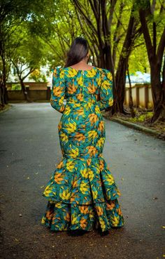 African Fashion Designers, African Traditional Dresses, Latest African Fashion Dresses, African Print Dresses, African Dresses For Women, African Print Fashion, African Attire, Green Plus Size Dresses, Wedding Dresses Plus Size