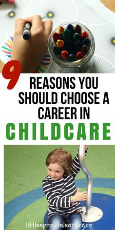 Every child deserves a great place to be. That's why I have taught kids for over 20 years. Here are GREAT reasons you should choose a career in childcare.