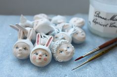 cute shop with clay dolls by flor panichelli