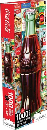 "Coca-Cola ""Slim Bottle"" 1000 Piece Jigsaw Puzzle"