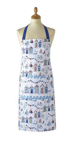 COOKSMART COTTON APRON- BESIDE THE SEA Apron, Sea, Kitchen, Cotton, Fashion, Moda, Cooking, Fashion Styles, Kitchens