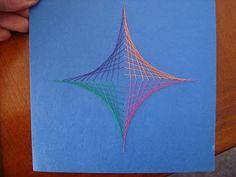 Adventures of a Middle School Art Teacher: 7th Grade String Art