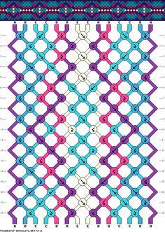 14 strings 18 rows 5 colors