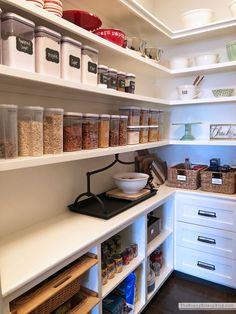 Organizing, Schedules and Recipes (Sunny Side Up) Pantry Organization, Organized Pantry, Organizing, Blogger Home, New Condo, Best Places To Live, Easy Family Meals, Amazing Spaces, Getting Organized