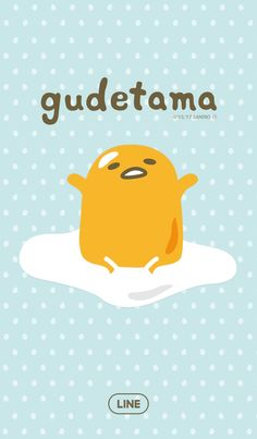 Gudetama [Line Wallpaper]