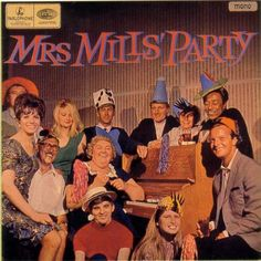 Mrs. Mills Party.  They party like savages.