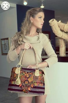 Guatemalan textil bag