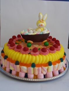 bolo decorado com marshmallow fini - Pesquisa Google