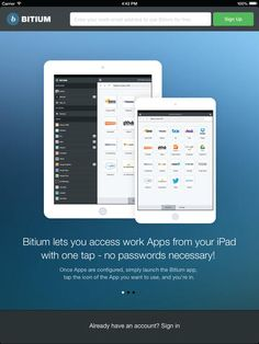 Bitium Launches an iPad App  Bitium, a service for managing web-based apps, has rolled out a new iPad app by the same name...... Read more at: http://www.topapps.net/apple-ios/bitium-launches-an-ipad-app.html/