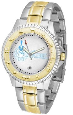 Mens Citadel Bulldogs - Competitor Two Tone Watch