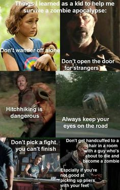 What The Walking Dead has Taught me.
