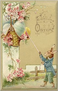 German Easter Victorian and Vintage Cards