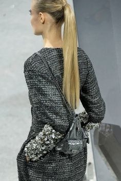 Chanel  ##color-on-color and texture