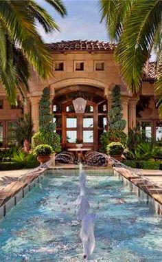 the pool & fountain