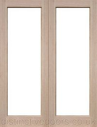 Sheaf Unglazed Interior Oak Door Pair is manufactured to allow customers to choose and fit their own glass. Ovolo moulding is supplied with the doors. Oak Doors, Extensions, Curtains, Mirror, Glass, Interior, Furniture, Home Decor, Blinds