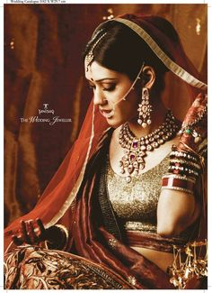 Tanishq jewellery for indian bride