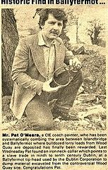Pat O Meara historic find in Ballyfermot Dublin, Old Photos, History, Art, Old Pictures, Art Background, Historia, Vintage Photos, Kunst