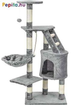 5 szintes csoda palota macskák számára, melyben kiválóan szórakozhatnak, leköti figyelmüket és foglalkoztatja őket, mindezek mellett karmaikat is koptatni tudják rajta a kaparófa révén! Pihe-puha plüss anyagból készült, színének köszönhetően pedig minden otthonban kiválóan mutat.    Jellemzői:  - Búvóhely  - Függőlegesen felfüggesztett vastag kötél  - Három megfigyelőplatform  - Kényelmes függőágy  - Létra  - Nagyon stabil   - Biztonságos anyagokból készült  - Szintek száma: 5    Méretei… Catgirl, Toothbrush Holder, Cat Ears