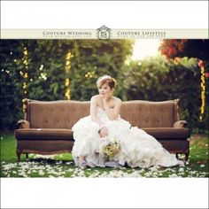 Bridal Photography - Couch