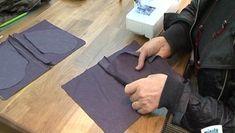Couture d'une poche de pantalon
