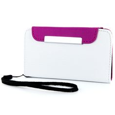 Cellairis Wristlet Case for Apple iPhone 4/4S - Ivory/Berry