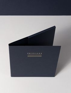 Privilege is a retail company from Dubai that deals with luxury goods. They comissioned us to design their identity.The company runs boutiques of various luxury brands selling their collections made exclusivelly for the Middle East Region.In our bran… Retail Companies, Folder Design, Name Cards, Magazine Design, Luxury Branding, Packaging Design, Logo Design, Middle East, Design Trends