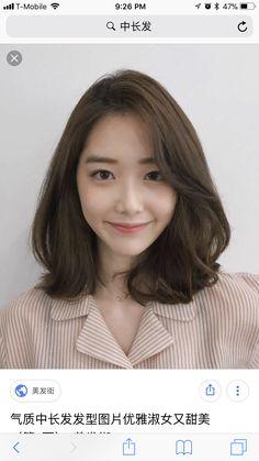 Best Hair Ombre Asian Ideas in 2020 Korean Hair Dye, Korean Medium Hair, Korean Hair Color, Korean Short Hair, Medium Short Hair, Short Hair With Bangs, Medium Hair Styles, Short Hair Styles, Hair Bangs