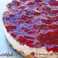 Το πιο εύκολο και γρήγορο cheesecake Greek Desserts, Party Desserts, Greek Recipes, Light Recipes, Easy Cheesecake Recipes, Sweets Recipes, Cooking Recipes, Sweet Cooking, Cream Cheese Recipes