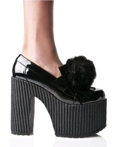 fa3151f4ab5 Proper Puff Loafers Goth Shoes