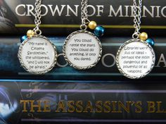 Throne of Glass by Sarah Maas Book Quote by CreationsBySarabii