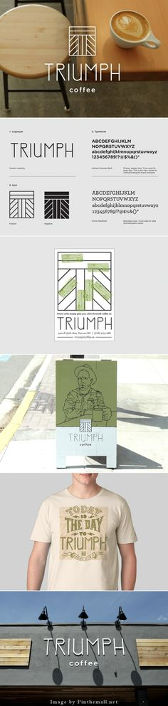 TRIUMPH coffee by Caste Projects