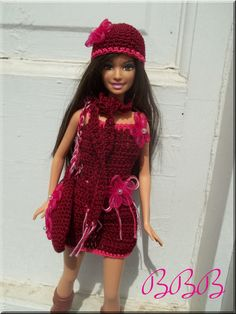 Crochet Barbie Clothes and Accessories by BarbieBoutiqueBasics