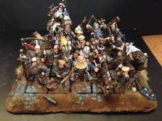 Middenheim marches North - Page 12 Warhammer Empire, Warhammer Figures, Warhammer Fantasy, Age Of Sigmar, Fantasy Battle, Mini Paintings, Tabletop, Modeling, Christmas Tree