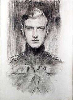 "John Singer Sargent, Robert ""Bobbie"" Gould Shaw III, 1923"