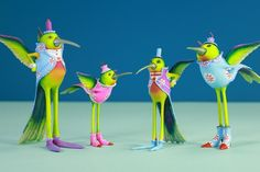 Meet the newest members of our the Patience Brewster #hummingbird collection