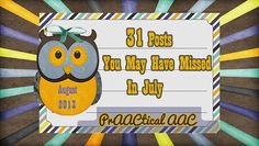 31 Posts You May Have Missed In July - Pinned by @PediaStaff – Please Visit ht.ly/63sNtfor all our pediatric therapy pins