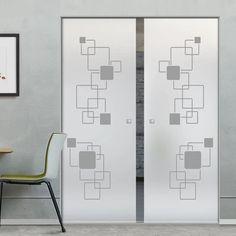 Glass Pocket Doors – Page 11 Glass Pocket Doors, Sliding Glass Door, The Doors, Creative Design, Bespoke, Floor Plans, Hardware, Contemporary, Interior