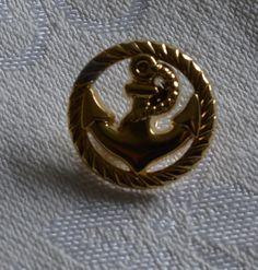 """Knöpfe  """" Goldknöpfe  """" Vintage von MonikasPuppenmode auf DaWanda.com"""