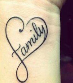 40 Powerful One Word Tattoo Ideas Tatouage de poignet de coeur de famille Love this one ! Pretty Tattoos, Love Tattoos, Beautiful Tattoos, New Tattoos, Small Tattoos, Thigh Tattoos, Ankle Tattoo, Girl Tattoos, Music Tattoos