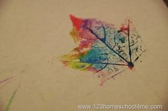 This fall craft project from Beth Gordon over at 123 Homeschool 4 Me breaks the mold a bit. While crayon leaf rubbings and preserving leaves are certainly fun, it's likely that your students have...