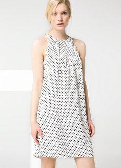Vestido estampados combinados - Blusas y camisas - Mujer - MANGO