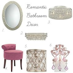 Romantic Bathroom Decor