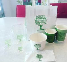 We loved seeing our new range of bags and cups today promoting how green the products are that we use here at The Yog Bar! We're helping save the planet as our packaging is: 100% compostable Low carbon Eco friendly Zero landfill Made from renewable & recycled materials  #gogreen #recycle #lowcarbon #saveourtrees #compostable #packaging #environment #nowaste #green #theyogbar #liverpool #hoylake #wirral #westkirby by theyogbar