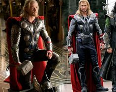 Thor2 Movie costumes | TheDarkLord_267 :Here they two armors are, the one on the right is ...