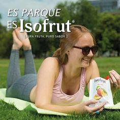 Esas tardes de parque acompáñalas con Isofrut,  un snack de fruta 100% natural, rico y nutritivo.  ¡Súmate al #ModoIsofrut!