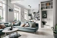 Scandinavian living room with IKEA Soderhamn sofa Scand. - - Scandinavian living room with IKEA Soderhamn sofa Scandinavian living room with IKEA Soderhamn sofa Scandinavian Sofas, Scandinavian Apartment, Cozy Apartment, Apartment Living, Ikea Studio Apartment, Ikea Soderhamn, Söderhamn Sofa, Ikea Sofas, Ikea Couch